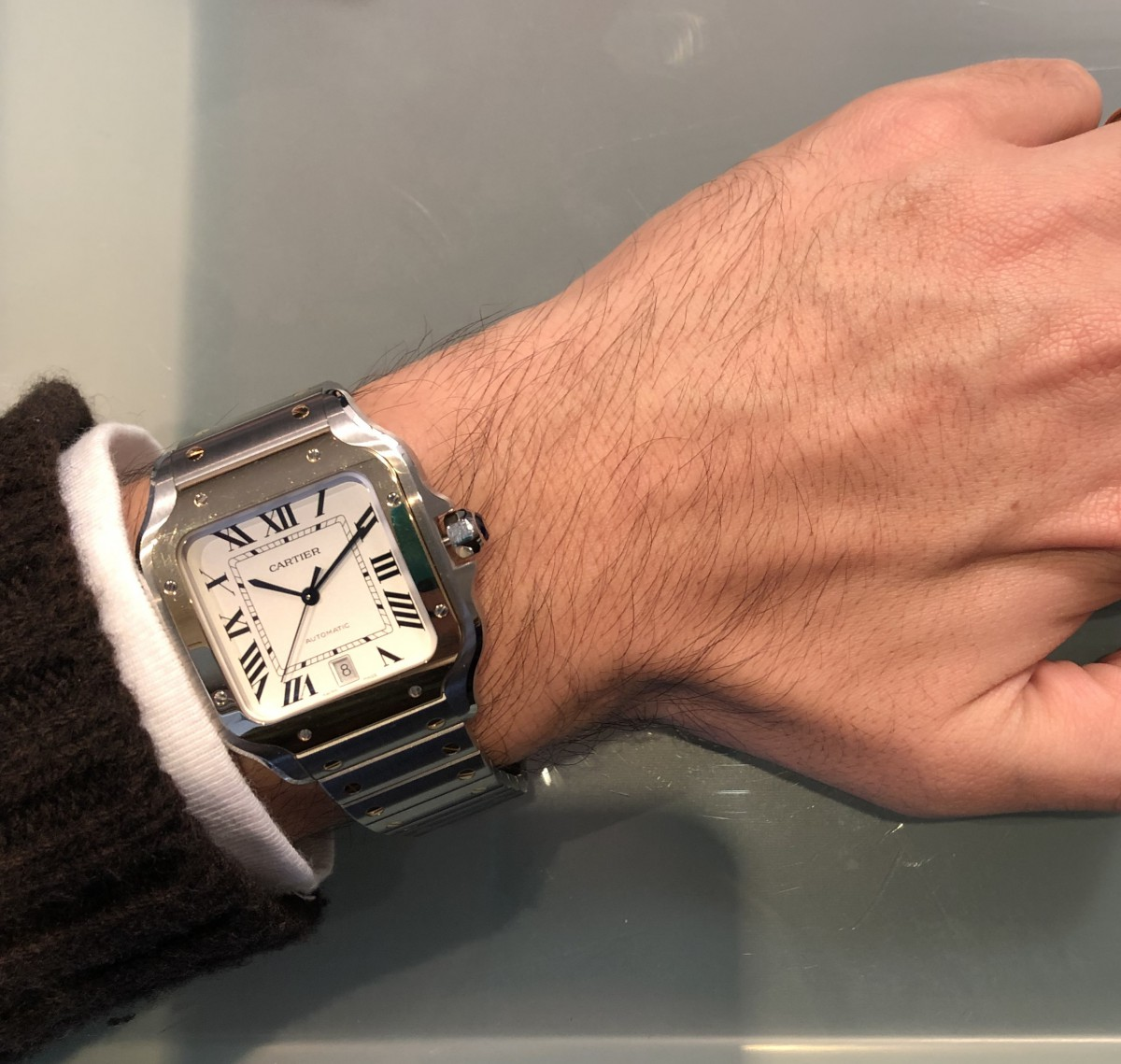 IMG_3945 モナコ、サントス、レベルソ。角型時計に悩める皆様へ、それぞれスタイルが全く違います!|関口 優