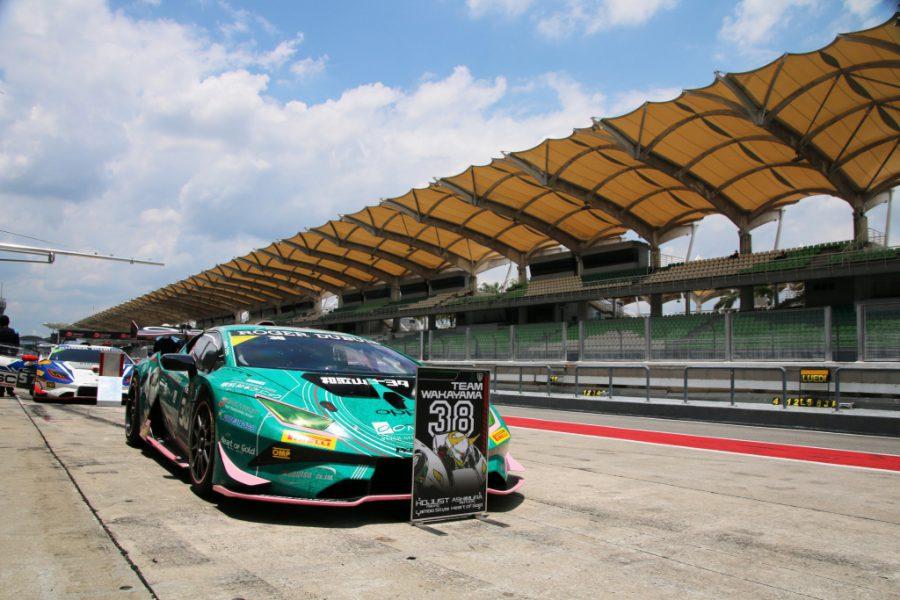ランボルギーニ・スーパートロフェオ・アジア 2019 セパン Race1 チーム和歌山 HOJUST RACING