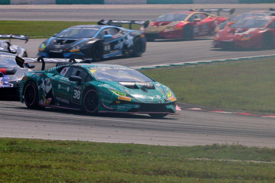 ランボルギーニ・スーパートロフェオ・アジア 2019 セパン Race2 チーム和歌山 HOJUST RACING