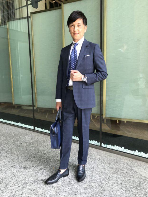 toga-2-623x830 タグ・ホイヤー モナコは、スーツスタイルでこそ存在感を放つ|戸賀 敬城