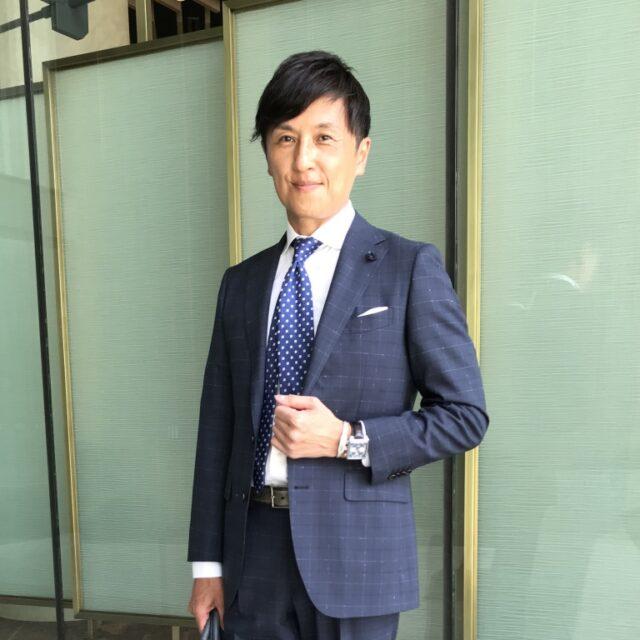 タグ・ホイヤー モナコは、スーツスタイルでこそ存在感を放つ 戸賀 敬城