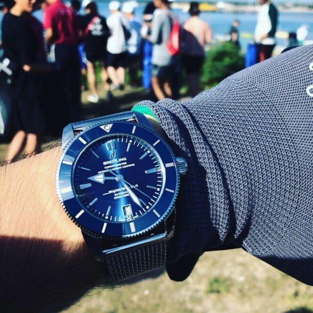 腕時計は旅の特別な瞬間をより格別なものにしてくれる/ブライトリング ビーチクリーンイベント|関口 優