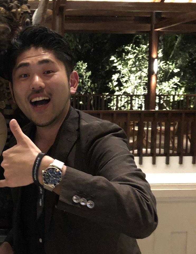 IMG_6015 腕時計は旅の特別な瞬間をより格別なものにしてくれる/ブライトリング ビーチクリーンイベント|関口 優