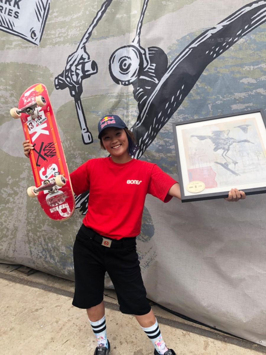 S__7086154_00 スケートボード・パーク「VANS PARK SERIES China」 四十住さくら選手
