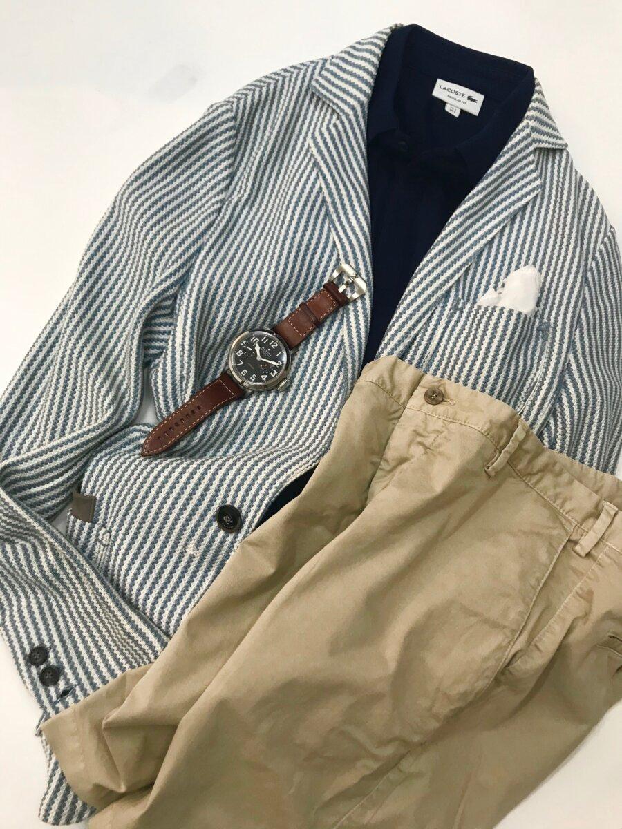 3-1 ゼニスのパイロットがあれば、大人のポロシャツ姿に小細工はいらない 戸賀 敬城