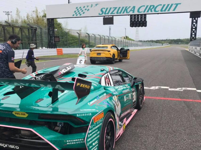 ランボルギーニ・スーパートロフェオ・アジア 2019 鈴鹿サーキット Race2 チーム和歌山 HOJUST RACING