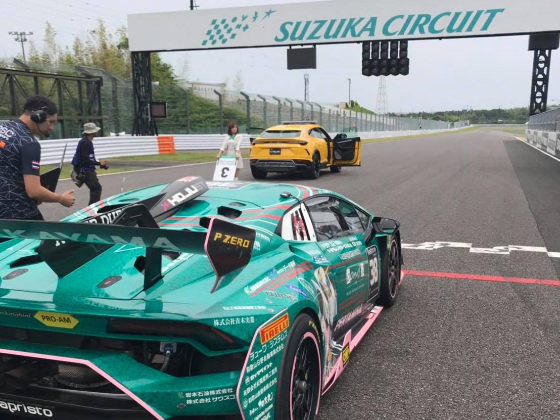 33 ランボルギーニ・スーパートロフェオ・アジア 2019 鈴鹿サーキット Race2|チーム和歌山 HOJUST RACING
