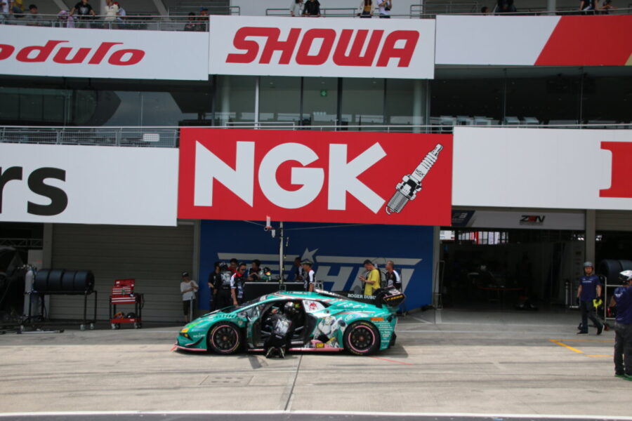 ランボルギーニ・スーパートロフェオ・アジア 2019 鈴鹿サーキット Race1 チーム和歌山 HOJUST RACING