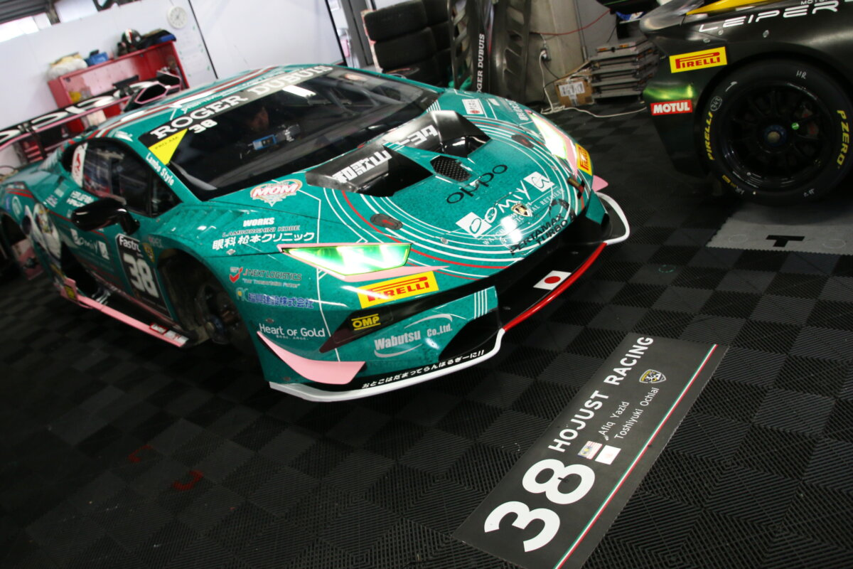 IMG_6279 ランボルギーニ・スーパートロフェオ・アジア 2019 富士スピードウェイ Race1|チーム和歌山 HOJUST RACING