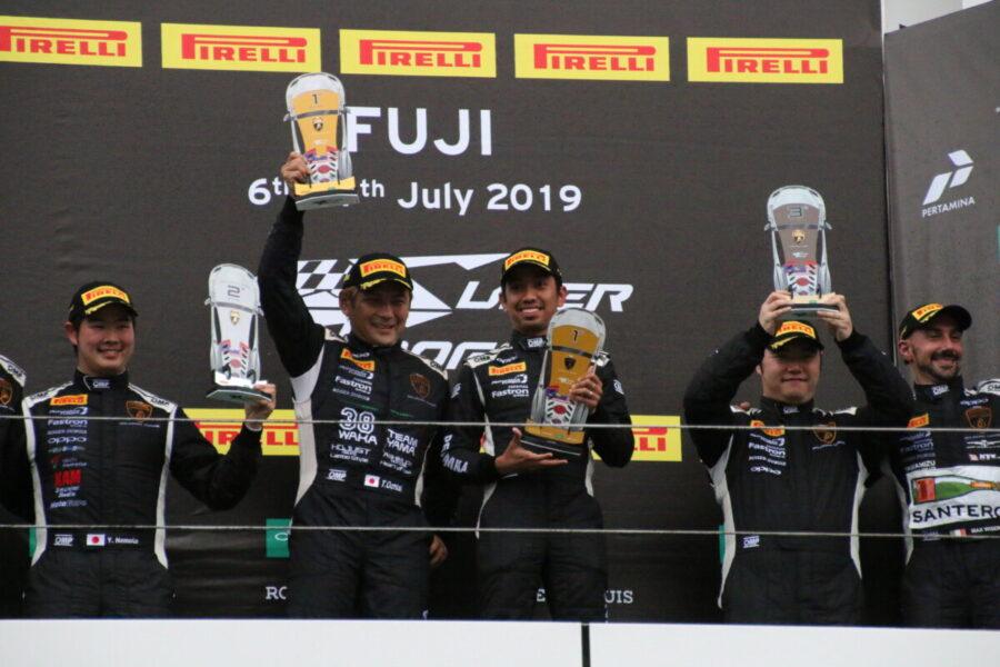 ランボルギーニ・スーパートロフェオ・アジア 2019 富士スピードウェイ Race1 チーム和歌山 HOJUST RACING