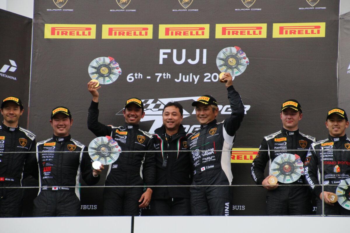 IMG_7531 ランボルギーニ・スーパートロフェオ・アジア 2019 富士スピードウェイ Race2|チーム和歌山 HOJUST RACING