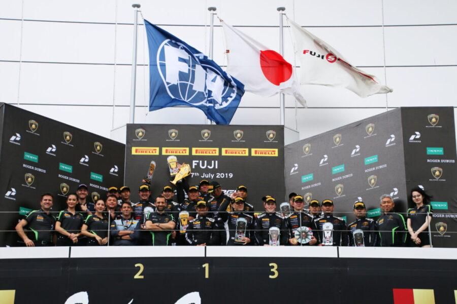 ランボルギーニ・スーパートロフェオ・アジア 2019 富士スピードウェイ Race2 チーム和歌山 HOJUST RACING