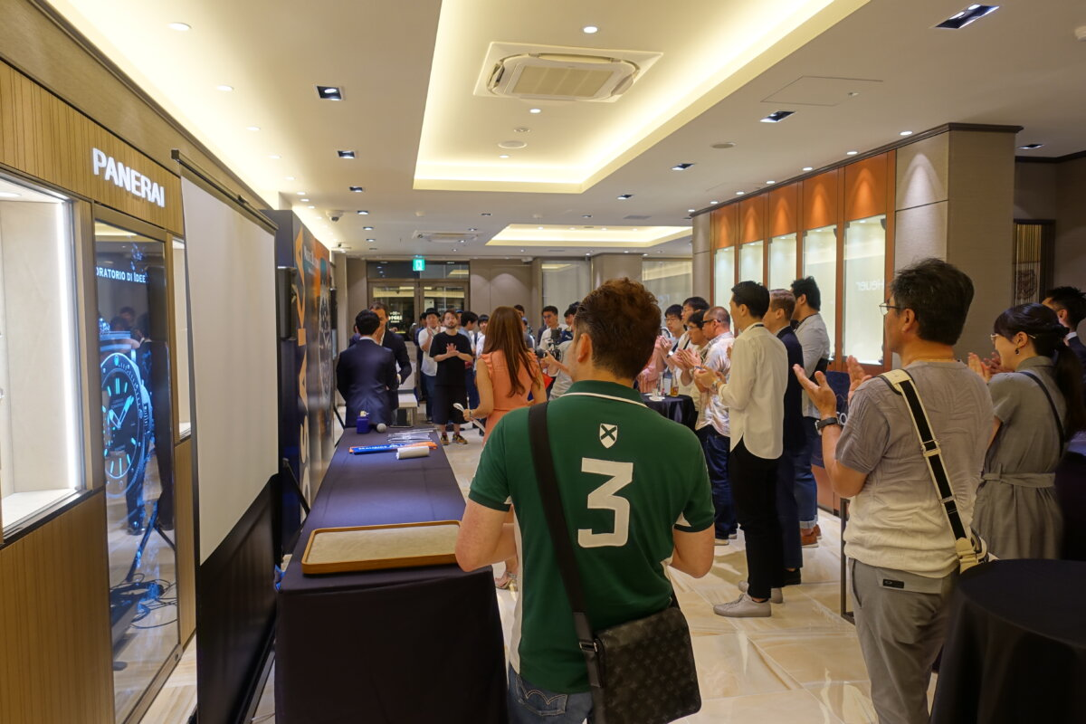 DSC01071 モーリス・ラクロア #TIMECODEOSAKA スペシャルイベントレポート oomiya 大阪心斎橋店