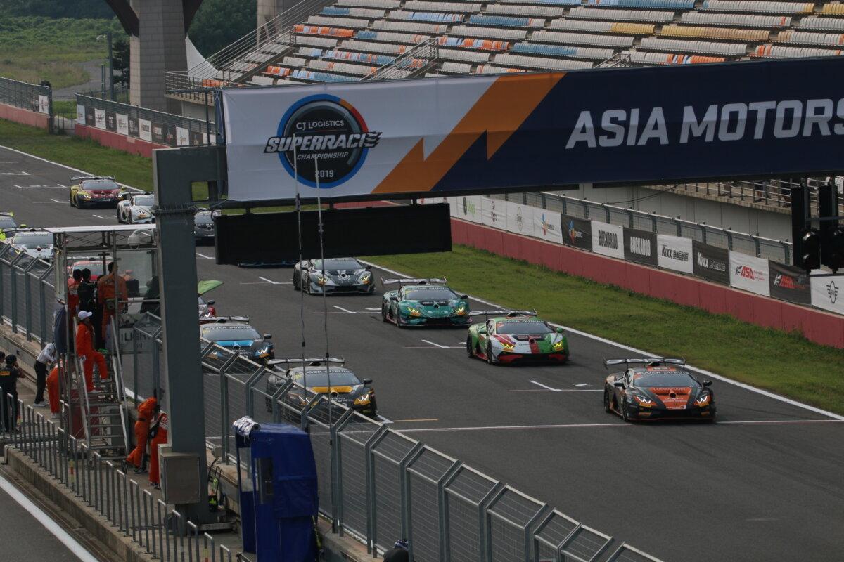 IMG_7995 ランボルギーニ・スーパートロフェオ・アジア 2019 韓国インターナショナル・サーキット Race1 チーム和歌山 HOJUST RACING