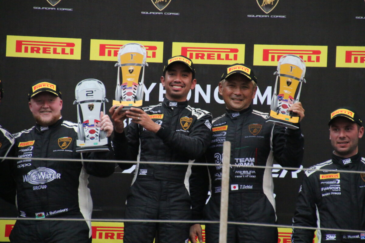 IMG_8160 ランボルギーニ・スーパートロフェオ・アジア 2019 韓国インターナショナル・サーキット Race1 チーム和歌山 HOJUST RACING