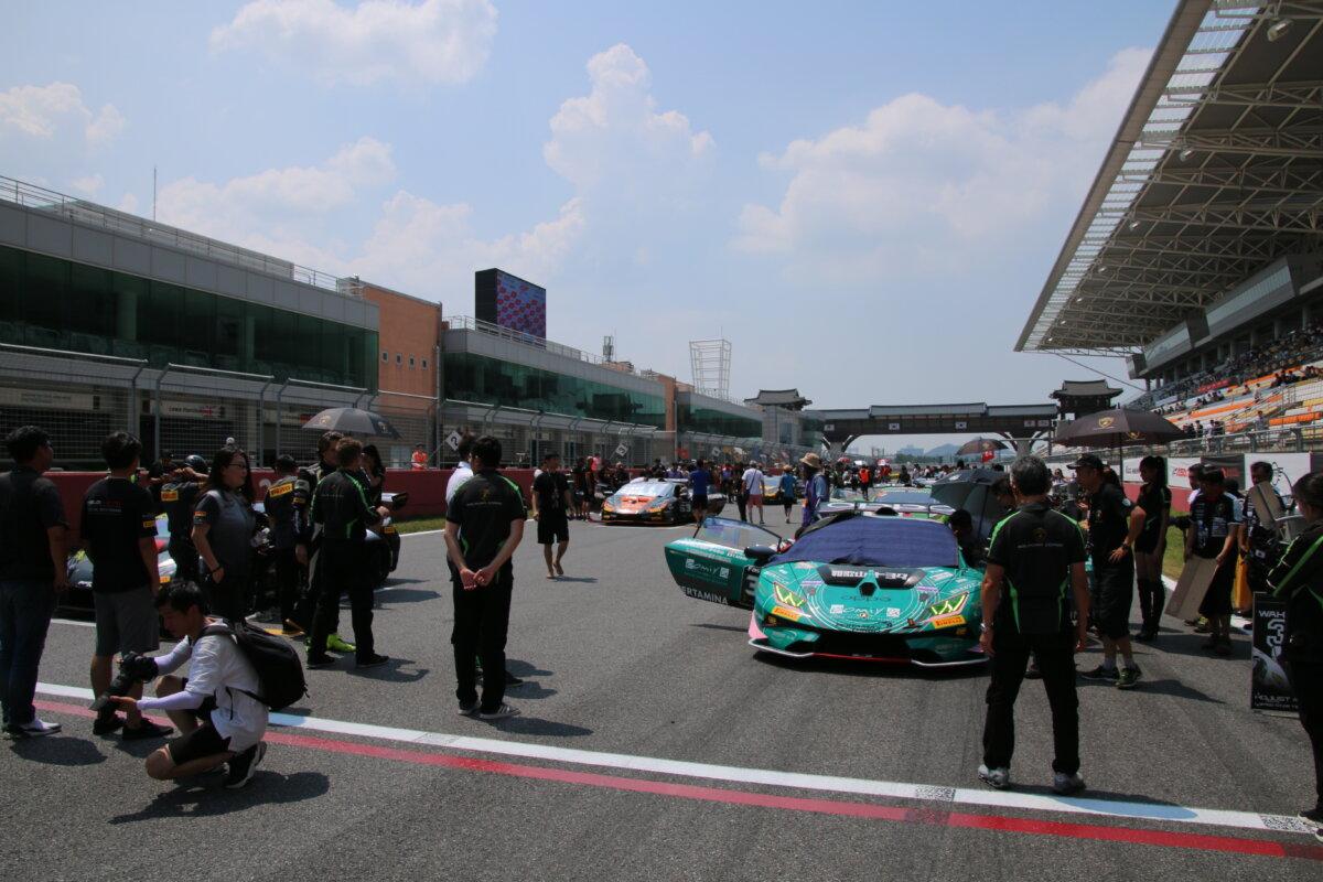 IMG_8189 ランボルギーニ・スーパートロフェオ・アジア 2019 韓国インターナショナル・サーキット Race2|チーム和歌山 HOJUST RACING