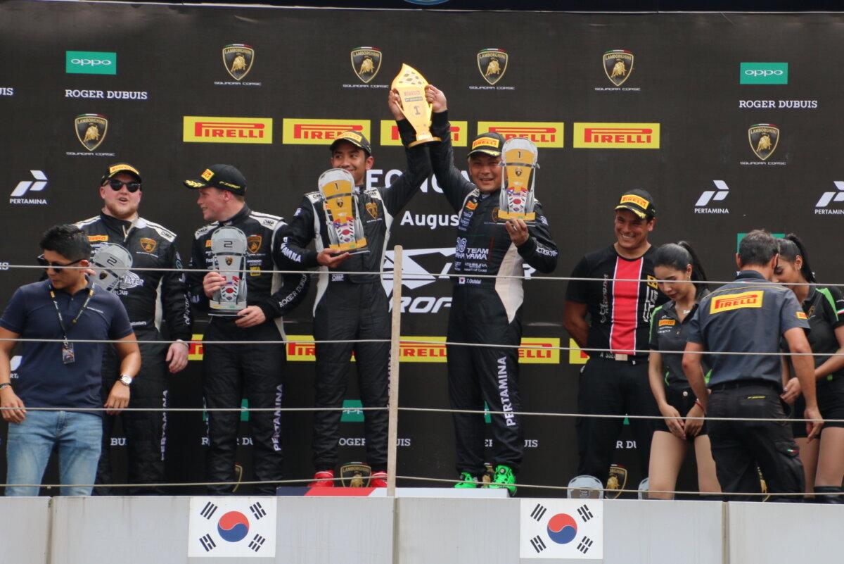 IMG_8449_0 ランボルギーニ・スーパートロフェオ・アジア 2019 韓国インターナショナル・サーキット Race2|チーム和歌山 HOJUST RACING