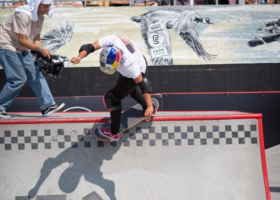 スケートボード「VANS PARK SERIES USA」|四十住さくら選手