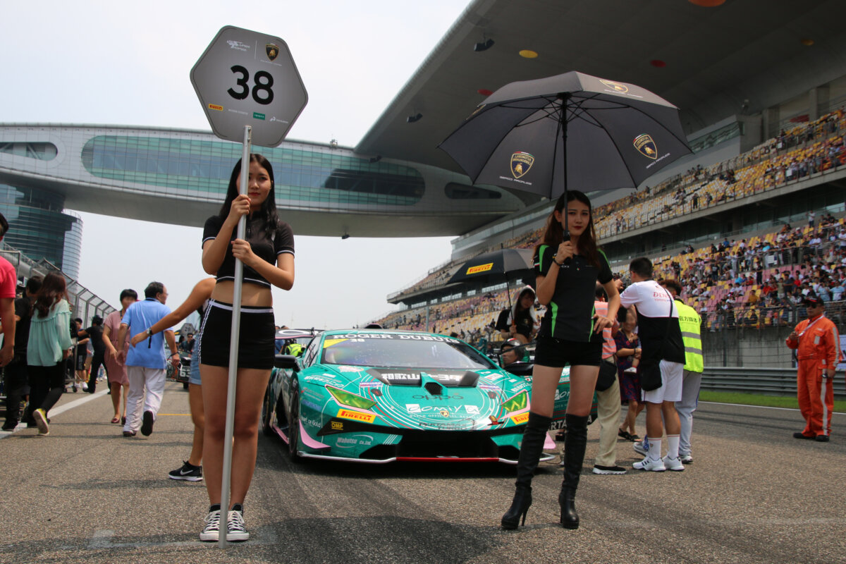 IMG_8974 ランボルギーニ・スーパートロフェオ・アジア 2019 上海 Race2 チーム和歌山 HOJUST RACING