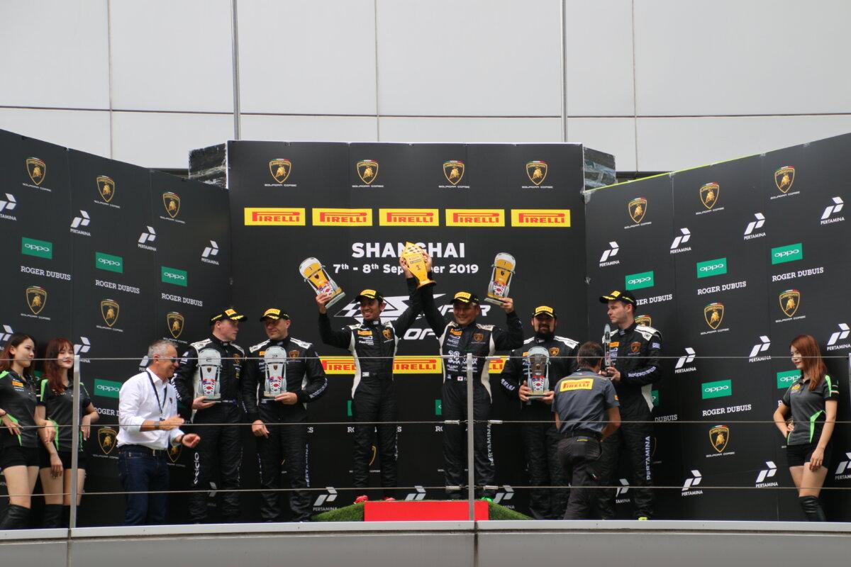 IMG_9118 ランボルギーニ・スーパートロフェオ・アジア 2019 上海 Race2 チーム和歌山 HOJUST RACING
