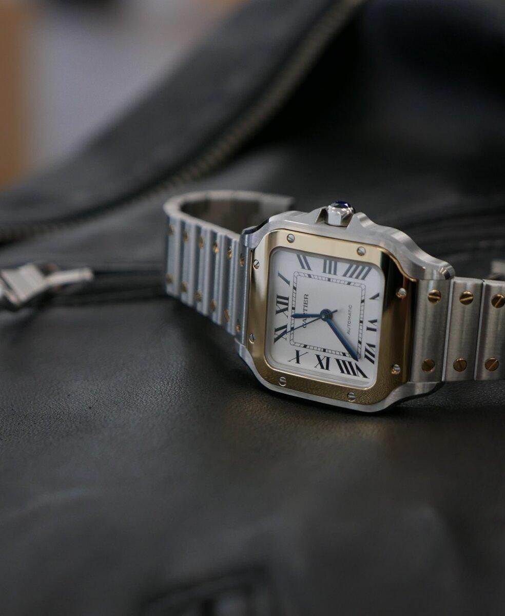 L9960070 最新世代のサントス ドゥ カルティエで 王道ウォッチの魅力を再(初)確認!|関口 優