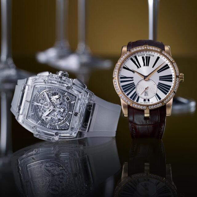 <LUXURY>時計上級者に人気上昇 宝石セッティング&スケルトン