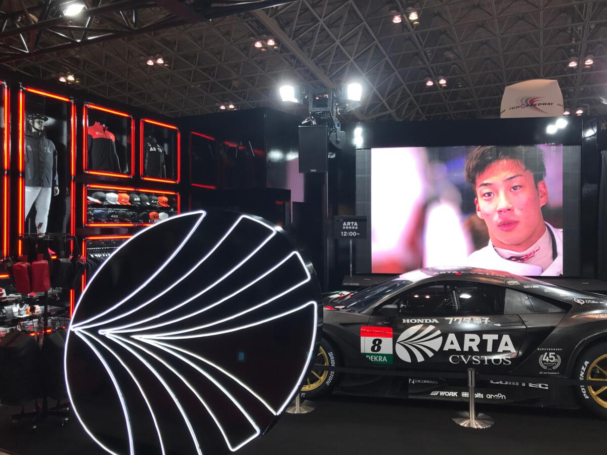 IMG_3120 東京オートサロン 2020「ARTA NSX-GT」展示!幕張メッセ