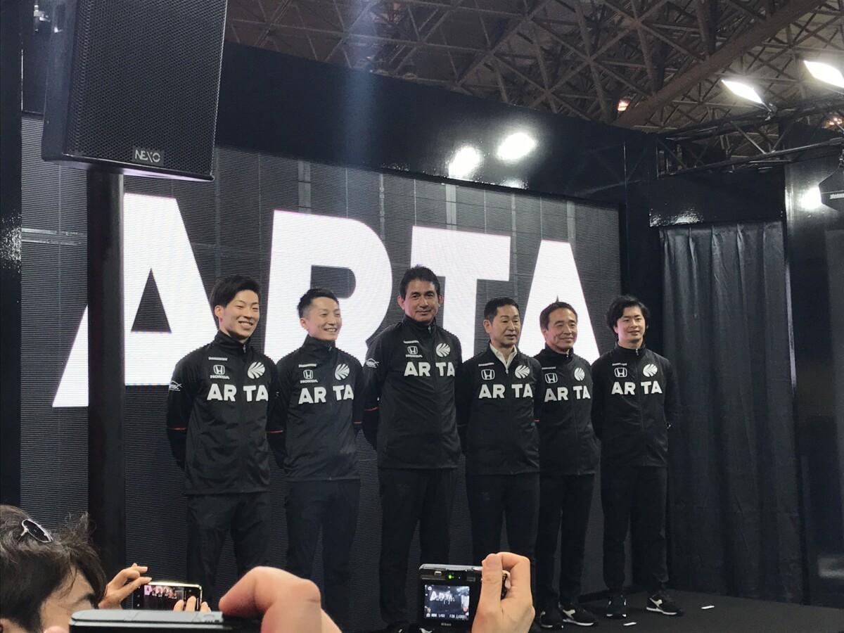 IMG_3176 東京オートサロン 2020「ARTA NSX-GT」展示!幕張メッセ