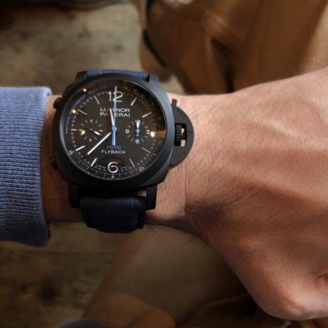 腕時計のフィッティング指南 ブラックパネライ 44mm編|関口 優