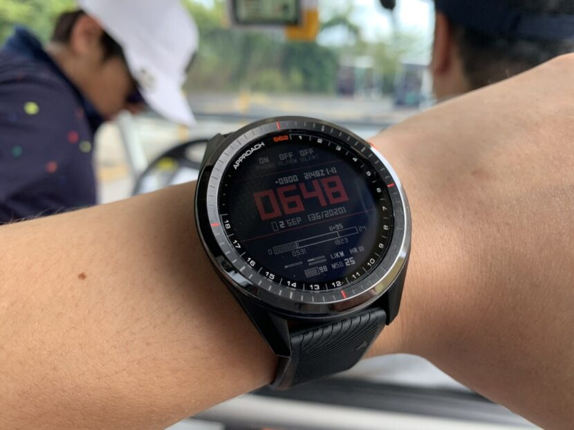IMG_0440-830x623 ガーミン「アプローチ S62」 時計屋スタッフが実際にゴルフ場で2ラウンド使用してみたのでレビュー|堺カントリークラブ
