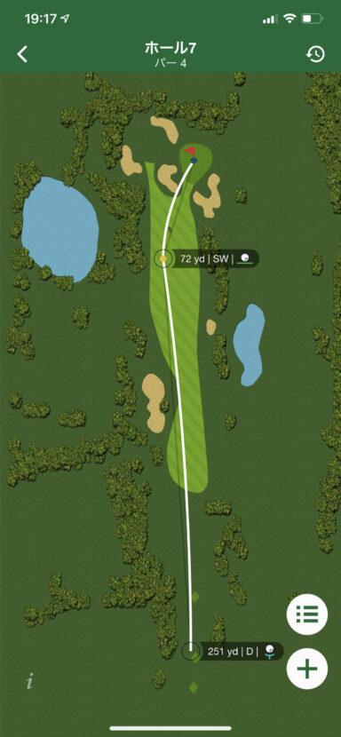 ガーミン「アプローチ S62」 時計屋スタッフが実際にゴルフ場で2ラウンド使用してみたのでレビュー|堺カントリークラブ - COLUMN |IMG_0469-384x830