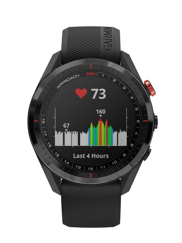 ガーミン「アプローチ S62」 時計屋スタッフが実際にゴルフ場で2ラウンド使用してみたのでレビュー|堺カントリークラブ - COLUMN |approach-s62-black