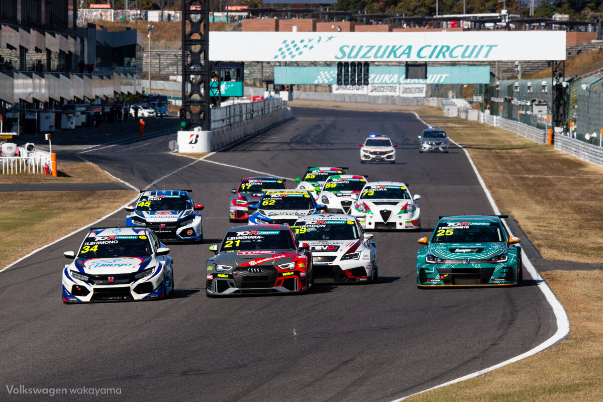 TCRジャパン2020 Rd.5 サタデーシリーズ|Volkswagen和歌山中央RT with TEAM和歌山 - SUPPORTED |20-12-05_tcrj_0163