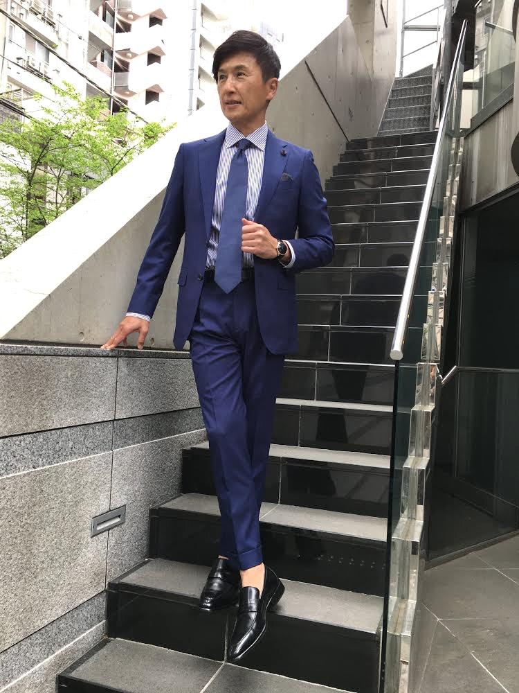 名脇役としてスーツを格上げしてくれるH.モーザー - 戸賀 敬城 |IMG_0750